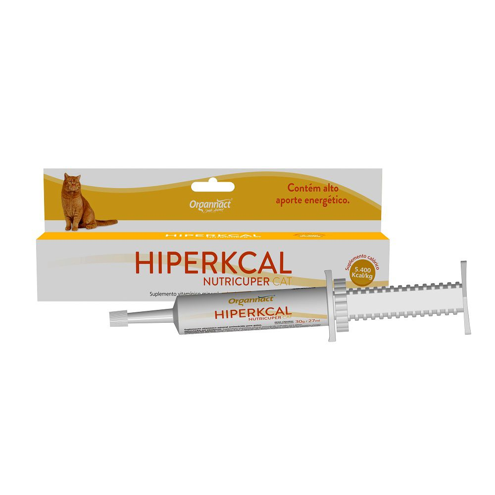 Hiperkcal Nutricuper Cat 27ml Organnact