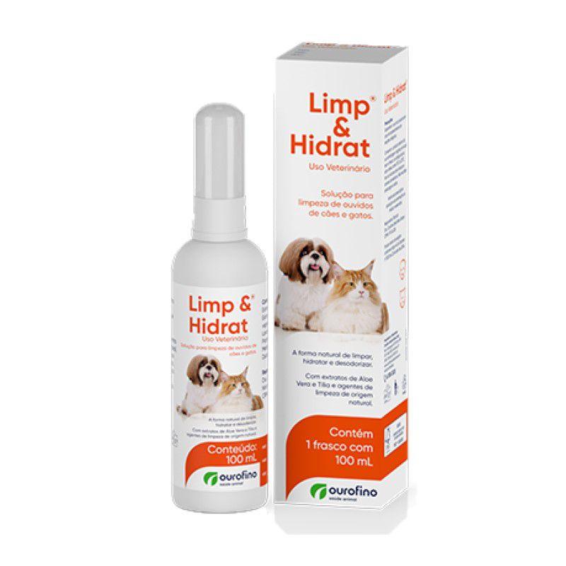 Limp E Hidrat Solução Para Limpeza De Ouvidos Ourofino 100ml