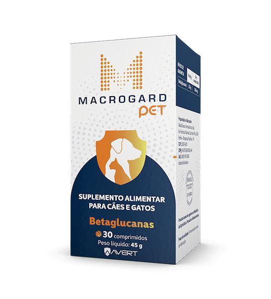 Macrogard Pet Suplemento Alimentar 30 Comprimidos 45g
