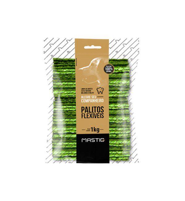 Mastig Palito Flex Menta Premium Para Cães 1kg