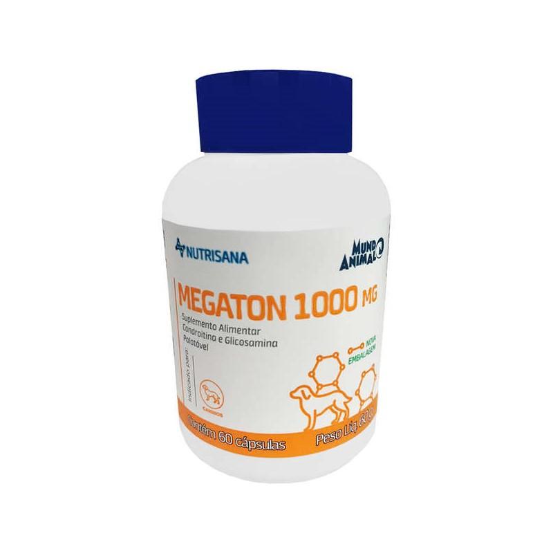 Megaton 1000mg Suplemento Alimentar 60 Cápsulas 60g