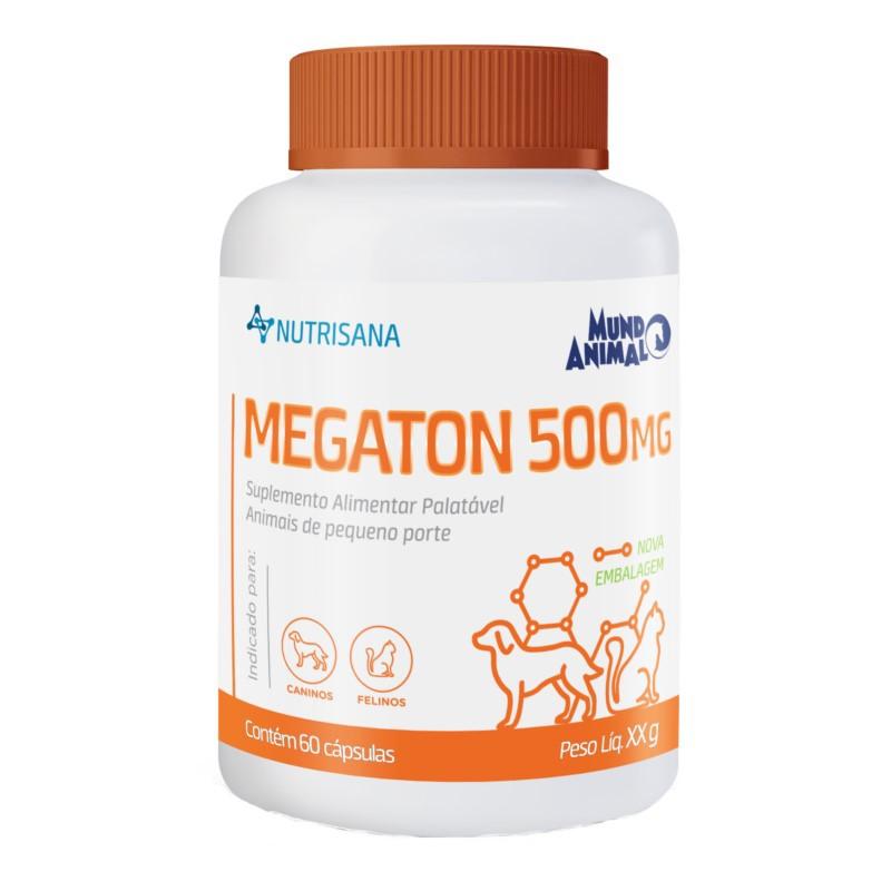 Megaton 500mg Suplemento Alimentar 60 Comprimidos 30g