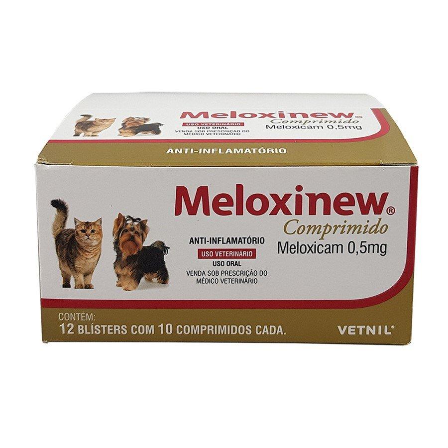 Meloxinew 0,5mg Anti-Inflamatório 12 Blisters Com 10 Comp.