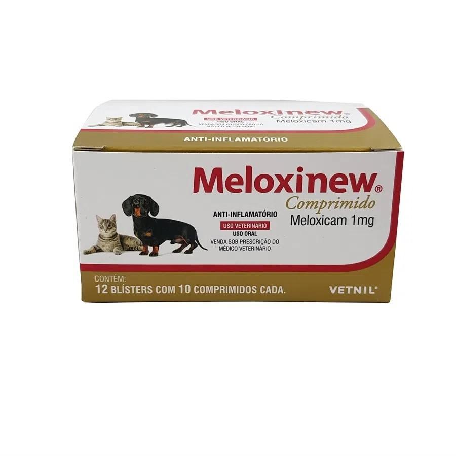 Meloxinew 1mg Anti-Inflamatório 12 Blisters Com 10 Comp.