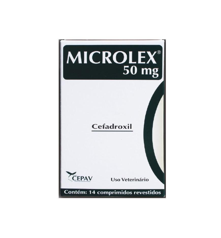 Microlex 50mg Cefadroxil 14 Comprimidos