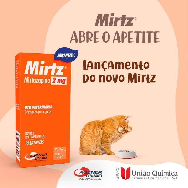 Mirtz 2mg 12 Comprimidos Agener União