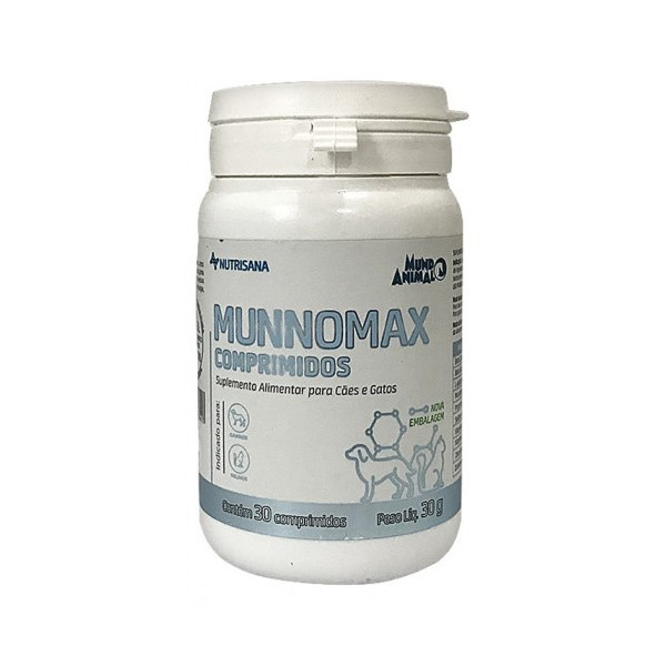 Munnomax 30g Suplemento Nutrisana 30 Comprimidos