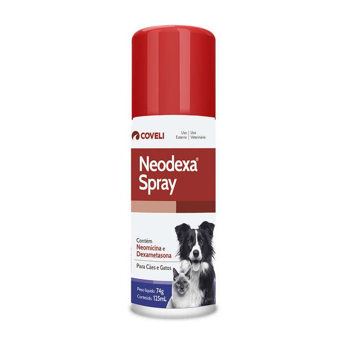 Neodexa Spray Coveli Antibiótico 74g/125ml