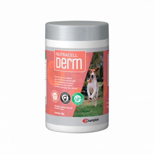Nutracell Derm Suplemento Alimentar Para Cães 300g