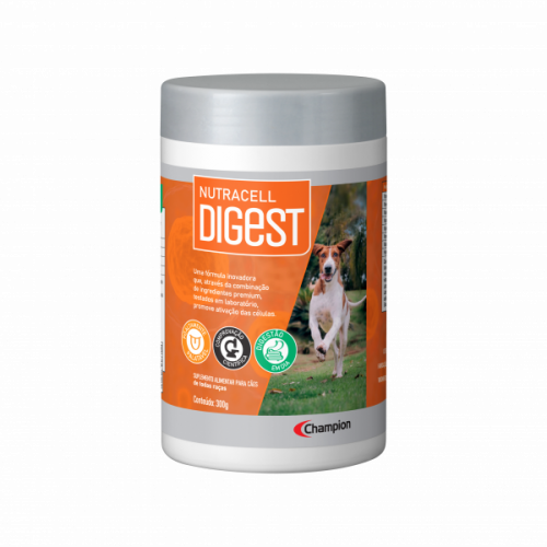 Nutracell Digest Suplemento Alimentar Para Cães 300g
