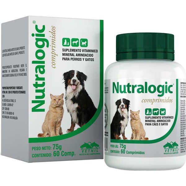 Nutralogic Vetnil 60 Comp Suplemento Vitaminico