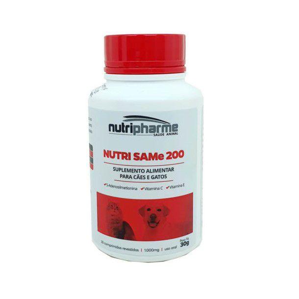 Nutri Same 200 Com 30 Comprimidos