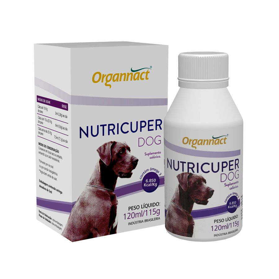 Nutricuper Dog 120ml Organnact
