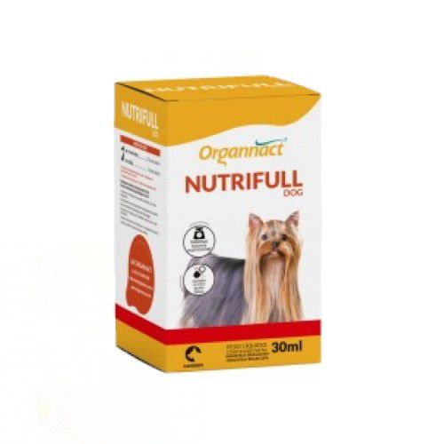 Nutrifull Dog Organnact 30ml Para Cães