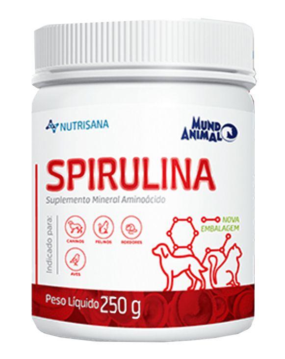 Nutrisana Spirulina 250g Mundo Animal