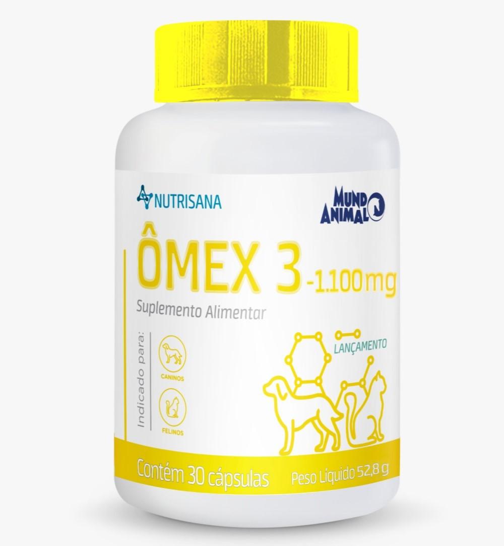 Ômex 3 Suplemento Alimentar 1100mg Nutrisana 30 Comprimidos