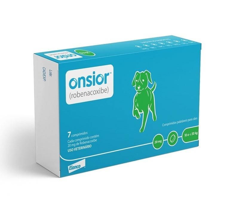 Onsior 20mg Anti-inflamatório Cães 10 a 20kg C/ 7 Comp.