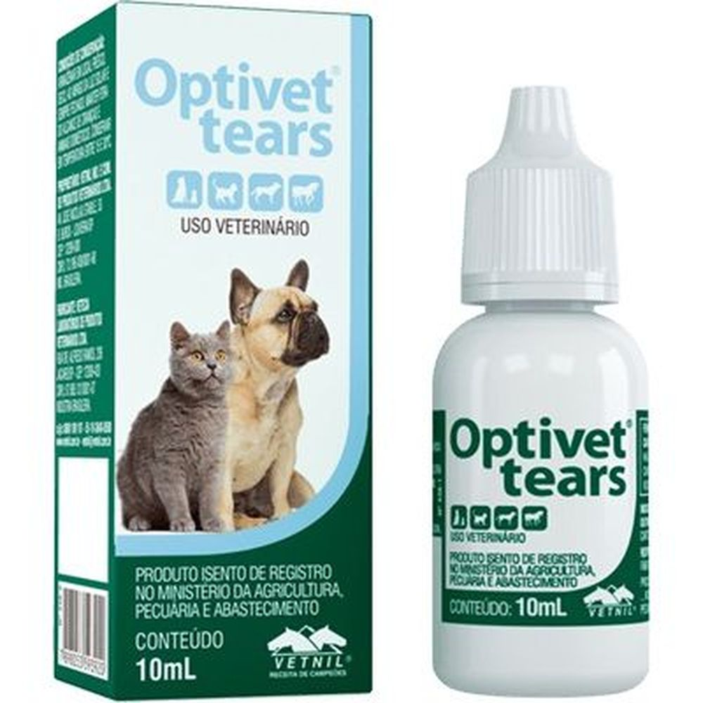 Optivet Tears 10 Ml - Vetnil