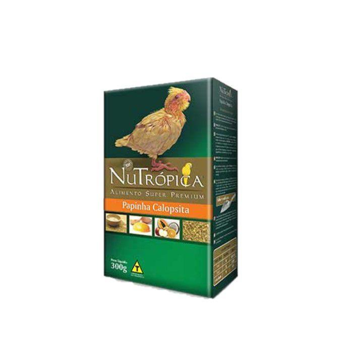 Papinha Nutropica Calopsitas Papagaios Filhotes 300grs