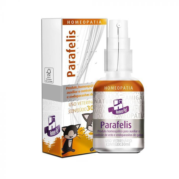 Parafelis Homeopatia Real H Para Gatos 30ml