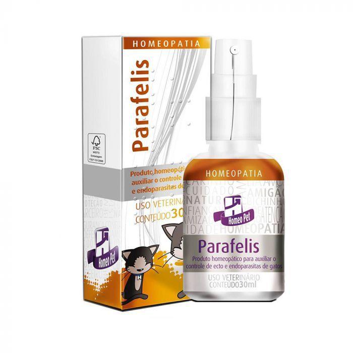 Parafelis Homeopatia Real H Para Gatos 30ml