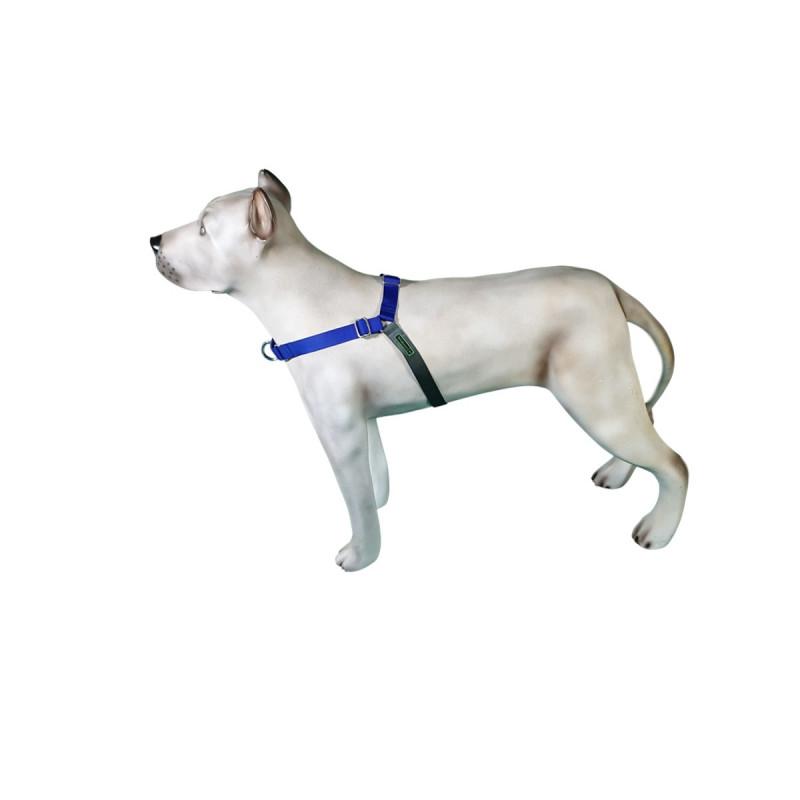 Peitoral K9 Spirit Treinamento para Cães Azul Tamanho GG