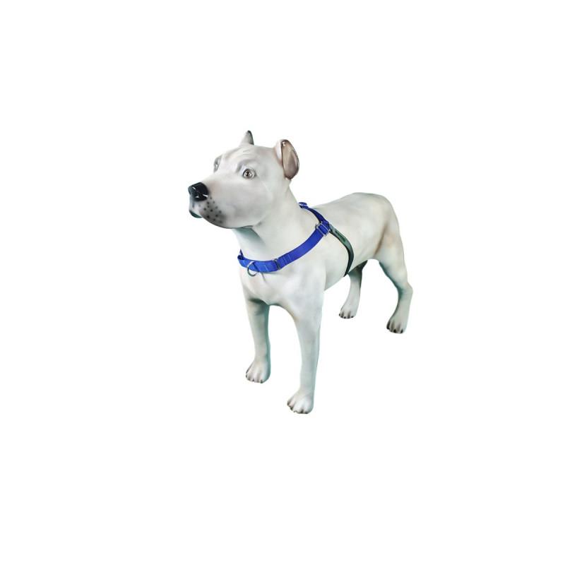 Peitoral K9 Spirit Treinamento para Cães Azul Tamanho PX2