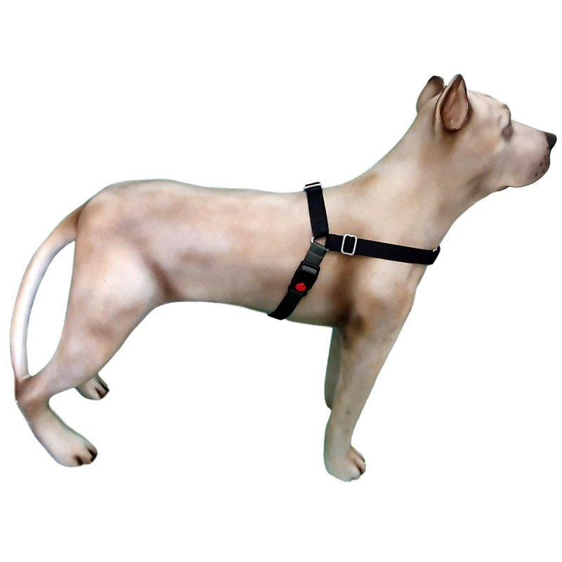 Peitoral K9 Spirit Treinamento para Cães Preto Tamanho PX2