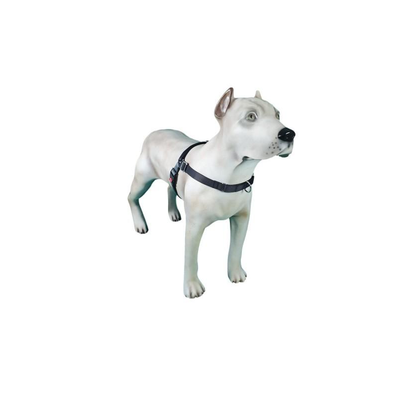 Peitoral K9 Spirit Treinamento para Cães Preto Tamanho PX
