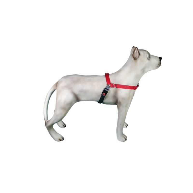 Peitoral K9 Spirit Treinamento para Cães Vermelho Tamanho PX2