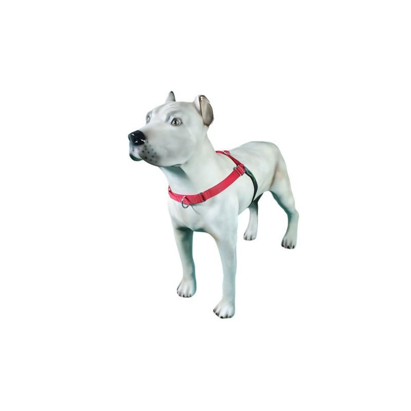 Peitoral K9 Spirit Treinamento para Cães Vermelho Tamanho PX