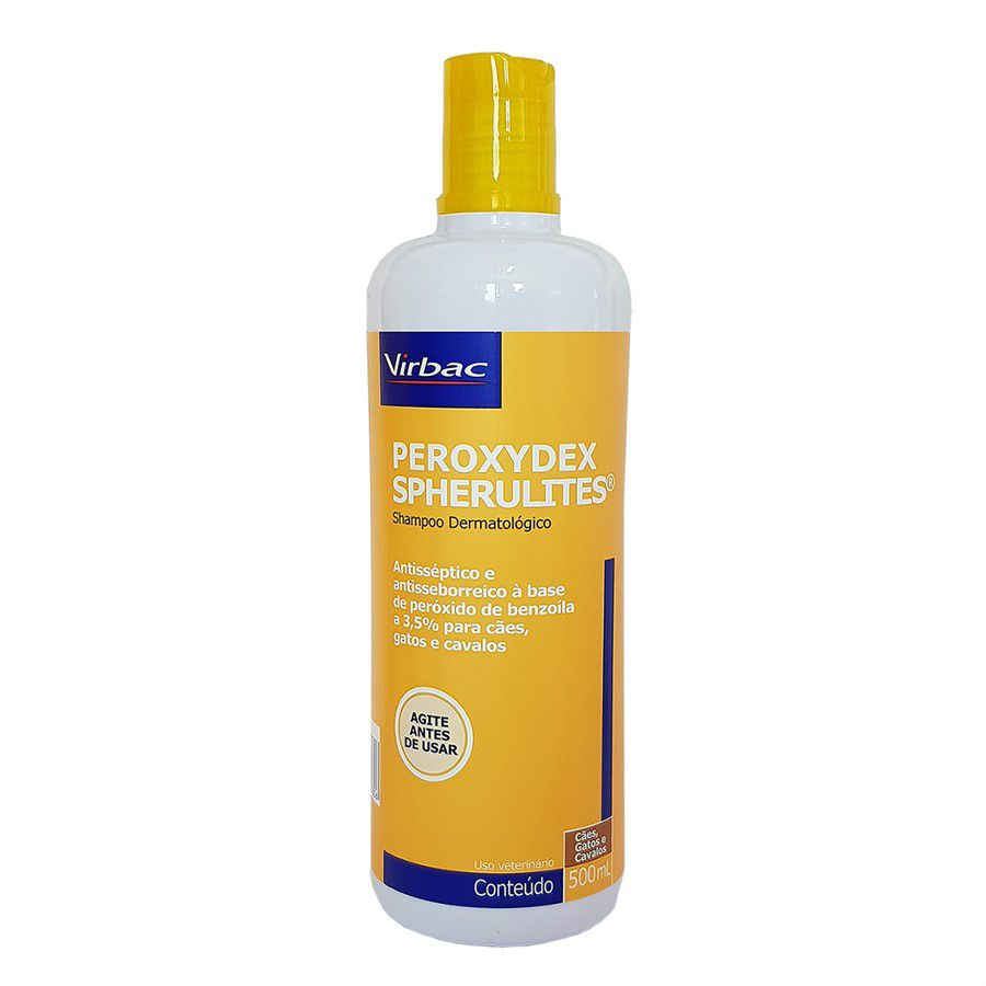 Shampoo Peroxydex Spherulites Dermatológico 500ml - Virbac