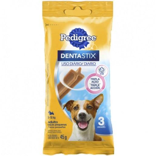 Petisco Pedigree Dentastix Cuidado Oral Cães Adultos Raças Pequenas - 3 Unidades