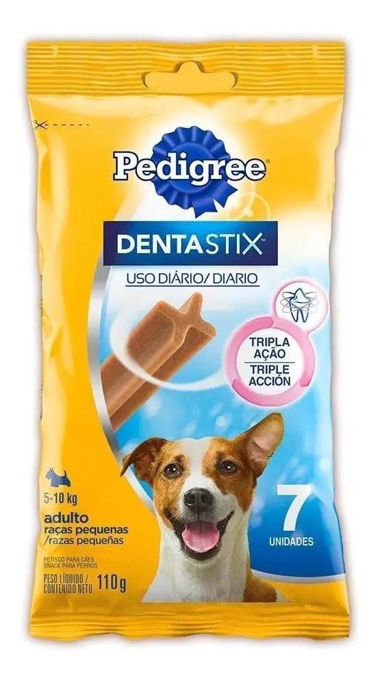 Petisco Pedigree Dentastix Cuidado Oral Cães Adultos Raças Pequenas - 7 Unidades