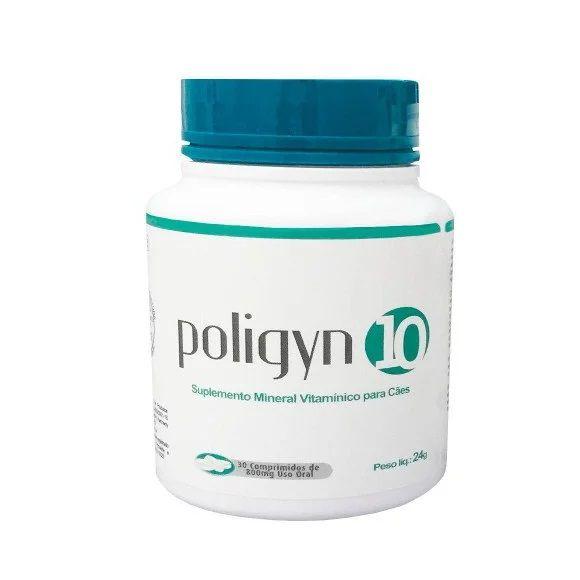 Poligyn 10 Suplemento Mineral Vitamínico Nutripharme para Cães 24g