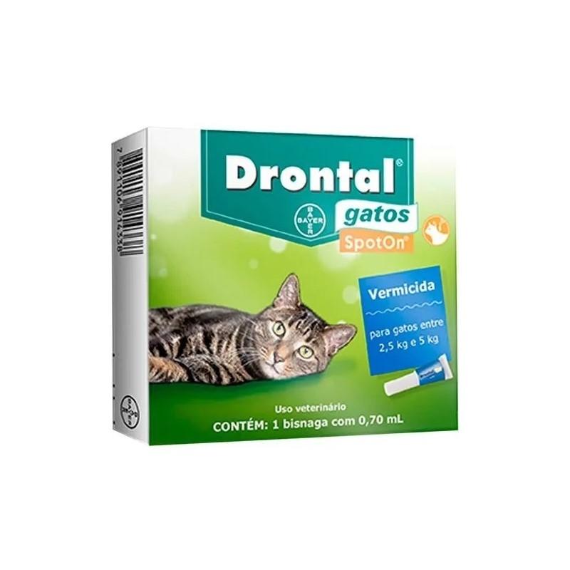 Profender Spoton Para Gatos De 2,5 Até 5kg 0,70 Ml