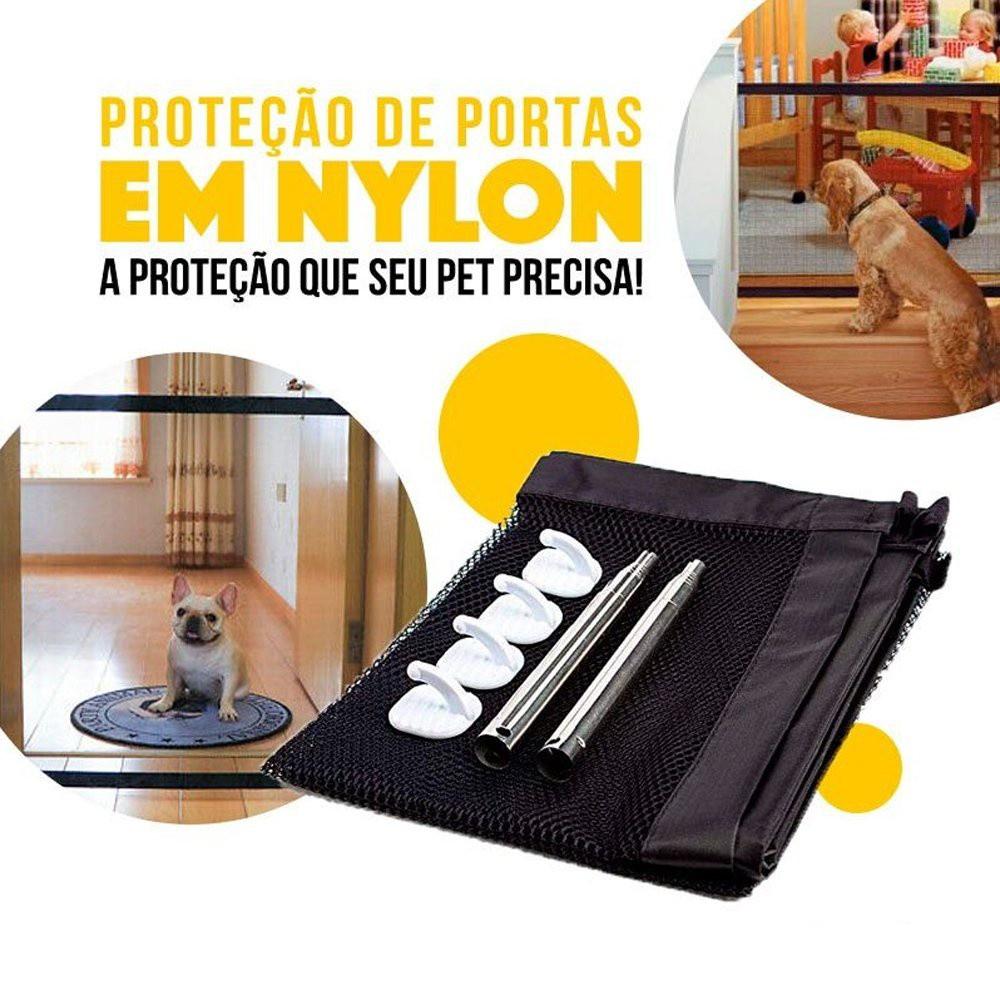 Proteção De Porta Para Cães e Gatos Petlon