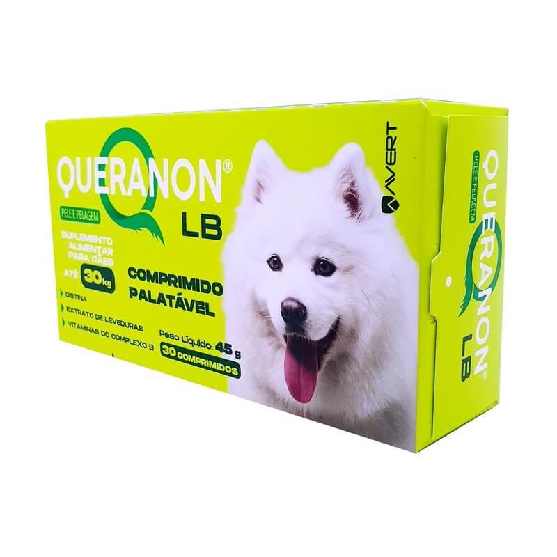 Queranon Lb Suplemento Avert P/ Cães De Até 30 Kg