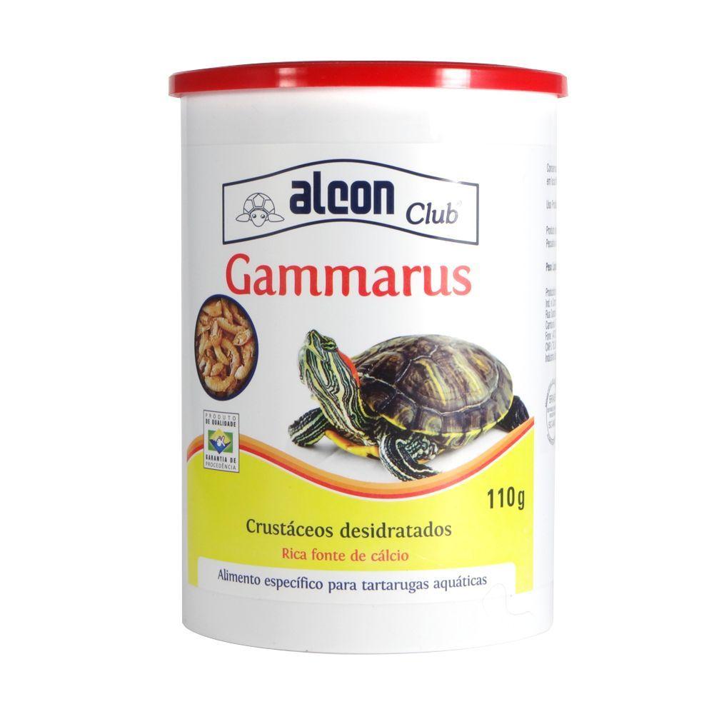 Ração Alcon Gammarus Para Tartarugas Aquáticas 110g Full