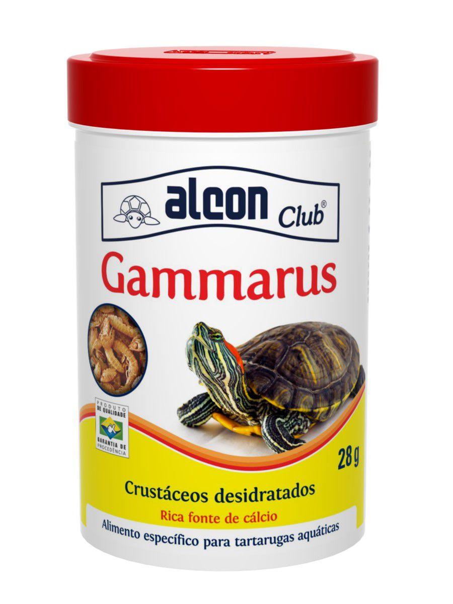 Ração Alcon Gammarus Para Tartarugas Aquáticas Pote 28g Full
