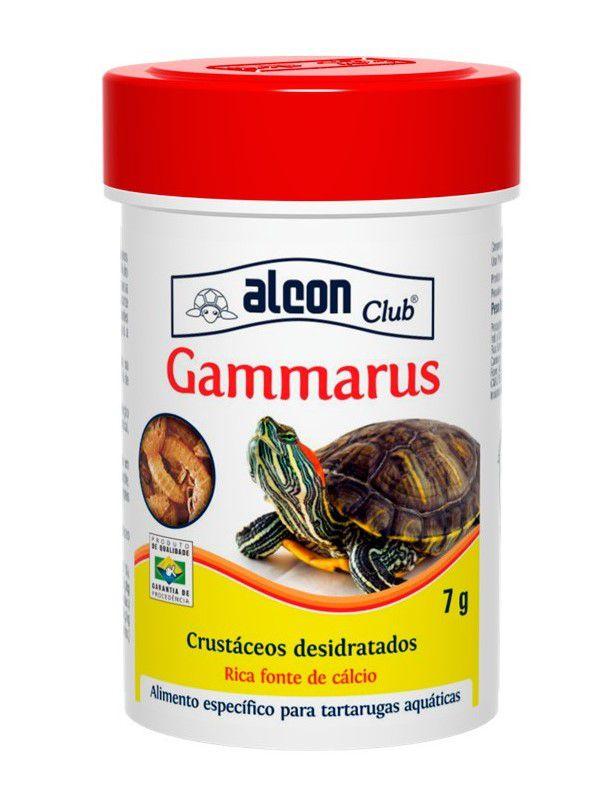 Ração Alcon Gammarus Para Tartarugas Aquáticas Pote 7g