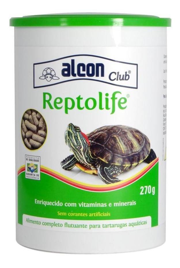 Ração Alcon Reptolife 270g - Ração P/ Tartarugas