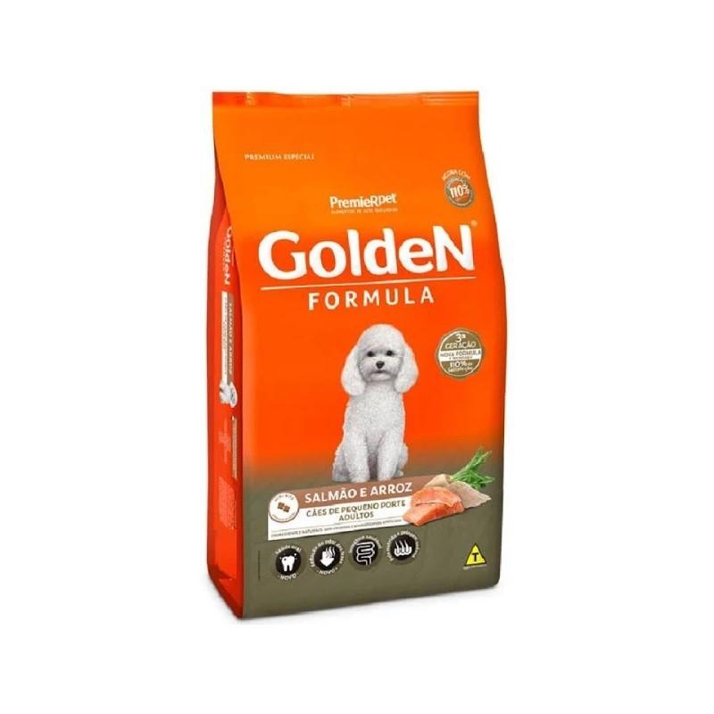 Ração Golden Formula Cães Pequeno Porte Adultos Salmão e Arroz 3kg