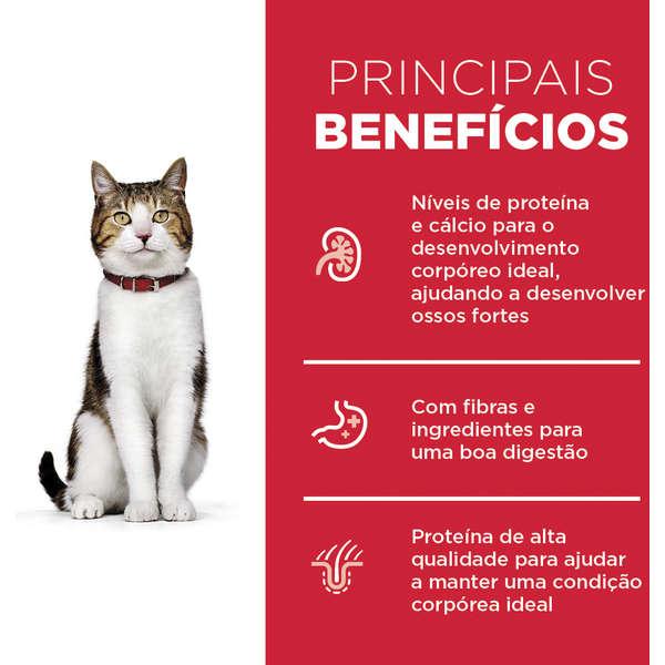 Ração Hill's Science Diet Frango para Gatos Adultos 7+ - 3 Kg