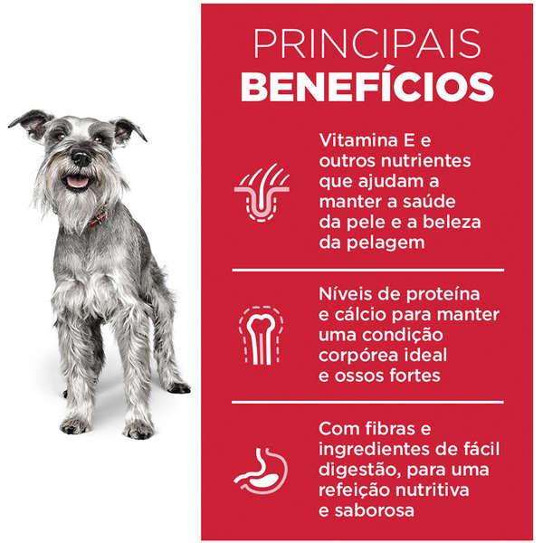 Ração Hill's Science Diet para Cães Adultos 7+ Raças Pequenas e Minis - 800 g