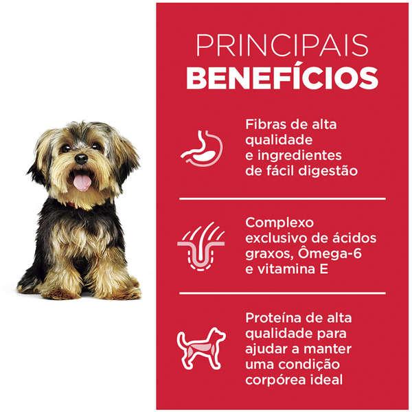 Ração Hill's Science Diet para Cães Adultos Raças Pequenas e Minis - 2,4 Kg