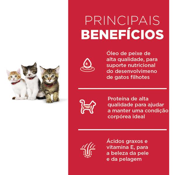 Ração Hill's Science Diet Frango para Gatos Filhotes - 1 Kg
