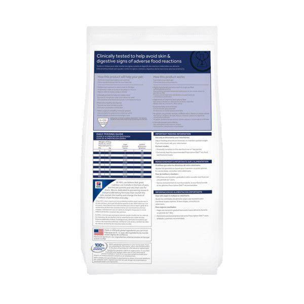 Ração Hills Prescription Diet Z/D Alergia ou Intolerância Alimentar Cães Adultos 3,6kg