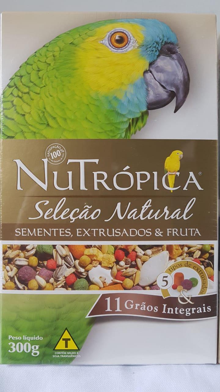 Ração Nutrópica Seleção Natural Papagaio 300g
