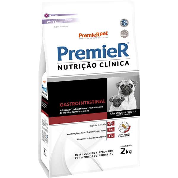 Ração Premier Nutrição Clínica Gastrointestinal para Cães de Pequeno Porte - 2 Kg